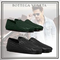 BOTTEGA VENETA Plain Toe Loafers Plain Leather Loafers & Slip-ons