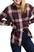 Madewell Other Check Patterns Casual Style Long Sleeves Cotton Medium