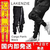 LAKENZIE Unisex Street Style Cotton Military Joggers & Sweatpants