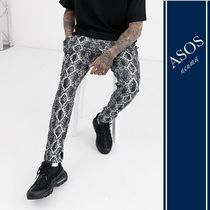 ASOS Tapered Pants Blended Fabrics Street Style