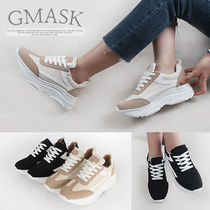 Wedge Round Toe Casual Style Faux Fur
