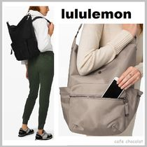 lululemon Casual Style A4 2WAY Plain Office Style Totes