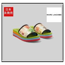 MARC JACOBS Casual Style Unisex Street Style Collaboration Sport Sandals