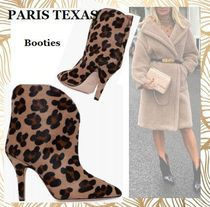 PARIS TEXAS Leopard Patterns Spawn Skin Leather Party Style