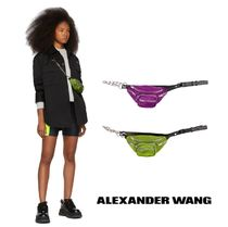 Alexander Wang Unisex Studded 2WAY Leather Shoulder Bags