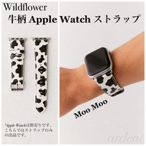 Wildflower Unisex Leather Watches