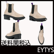 Eytys Casual Style Leather Boots Boots