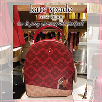 kate spade new york Casual Style Collaboration 3WAY Other Animal Patterns