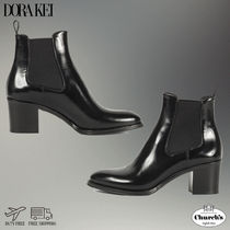 Church's Plain Chelsea Boots Party Style Elegant Style Chunky Heels