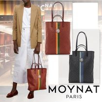 MOYNAT Casual Style Canvas 2WAY Elegant Style Totes