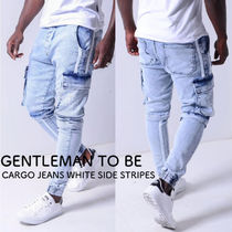 Gentleman To Be Street Style Cotton Skinny Jeans