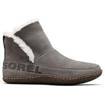 SOREL Round Toe Casual Style Suede Faux Fur Plain Logo Shoes
