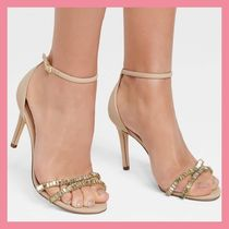 Lipsy Open Toe Plain Pin Heels Party Style Sandals