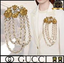 GUCCI Casual Style Unisex Street Style Party Jewelry