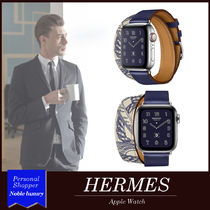 HERMES Unisex Collaboration Analog Watches