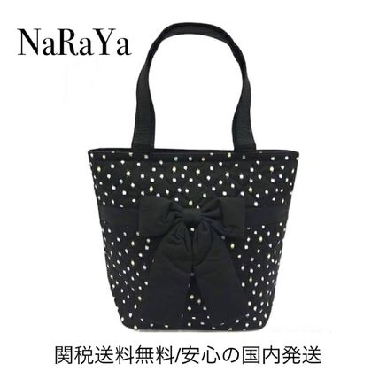 Dots Casual Style Totes
