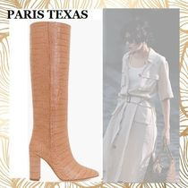 PARIS TEXAS Casual Style Other Animal Patterns Leather Block Heels