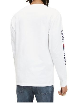 Tommy Hilfiger Long Sleeve Pullovers Street Style Long Sleeves Plain 3