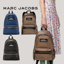 MARC JACOBS THE MARC JACOBS Casual Style Unisex Nylon Plain Office Style Elegant Style