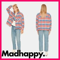 Madhappy Unisex Long Sleeves Cotton Shirts & Blouses