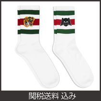 GUCCI Skull Plain Other Animal Patterns Cotton Undershirts & Socks