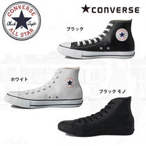 CONVERSE ALL STAR Rubber Sole Lace-up Casual Style Unisex Street Style Plain