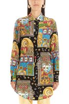 Moschino Casual Style Silk Party Style Elegant Style Shirts & Blouses