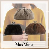 Weekend Max Mara Casual Style Party Style Elegant Style Shoulder Bags