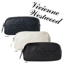 Vivienne Westwood Unisex Plain Leather Wallets & Small Goods