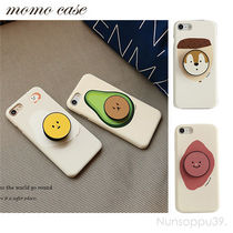 MOMO CASE Unisex Blended Fabrics Smart Phone Cases