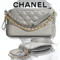 CHANEL 【CHANEL】 Clutch With Chain Calfskin Lambskin