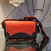 Christian Louboutin Street Style Leather Small Shoulder Bag Logo