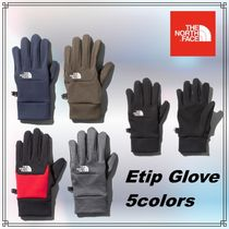THE NORTH FACE Unisex Plain Touchscreen Gloves