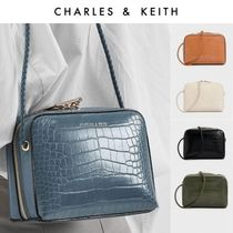 Charles&Keith Unisex Faux Fur Special Edition Shoulder Bags