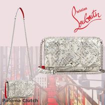 Christian Louboutin Paloma 2WAY Chain Party Style Clutches