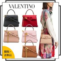 VALENTINO  VSLING Casual Style Blended Fabrics 2WAY Bi-color Chain Plain