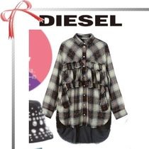 DIESEL Other Check Patterns Shirts & Blouses