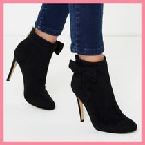 Lipsy Casual Style Plain Pin Heels Ankle & Booties Boots