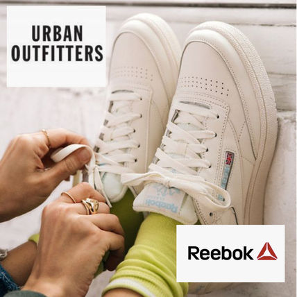 Casual Style Street Style Plain Logo Low-Top Sneakers