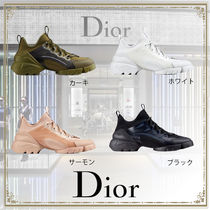 Christian Dior Casual Style Street Style Plain Logo Low-Top Sneakers