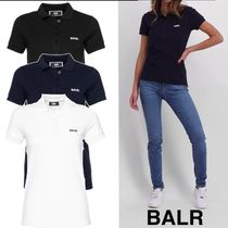 BALR Casual Style Street Style Cotton Short Sleeves Polo Shirts