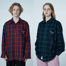 Wai Kei Tartan Other Check Patterns Casual Style Unisex Street Style