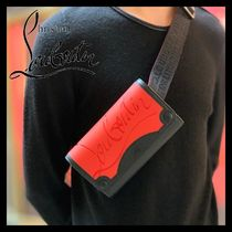 Christian Louboutin Unisex Street Style Leather Bags