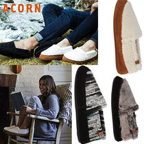 ACORN Moccasin Round Toe Casual Style Unisex Suede Street Style