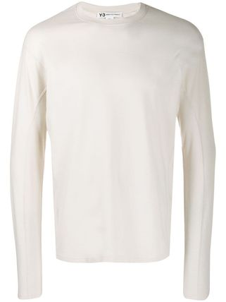 Y-3 Long Sleeve Long Sleeves Cotton Long Sleeve T-Shirts 2