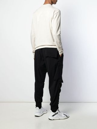 Y-3 Long Sleeve Long Sleeves Cotton Long Sleeve T-Shirts 3