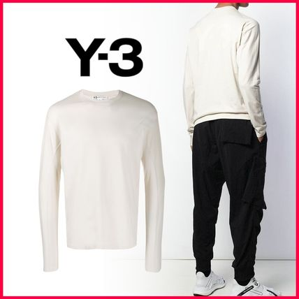 Y-3 Long Sleeve Long Sleeves Cotton Long Sleeve T-Shirts