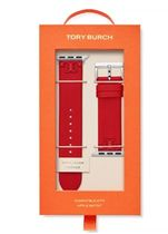 Tory Burch MCGRAW Casual Style Leather Office Style Apple Watch Belt Watches