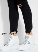 Guess Casual Style Street Style Low-Top Sneakers