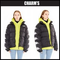 Charm's Unisex Street Style Down Jackets